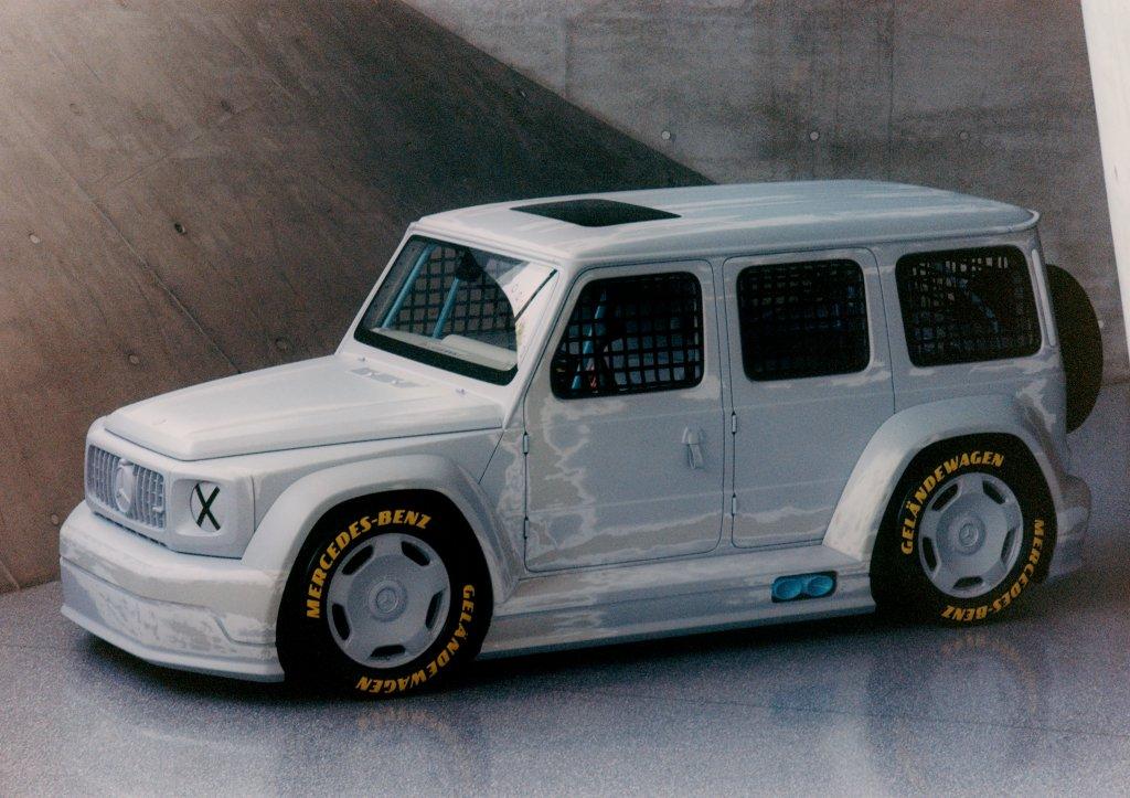 Project Geländewagen. Mercedes-Benz and Virgil Abloh