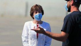 Susan Collins campaign stop