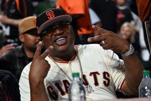MLB: AUG 13 Athletics at Giants