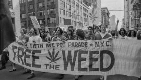 Bill Tompkins Legalize Weed March Archive