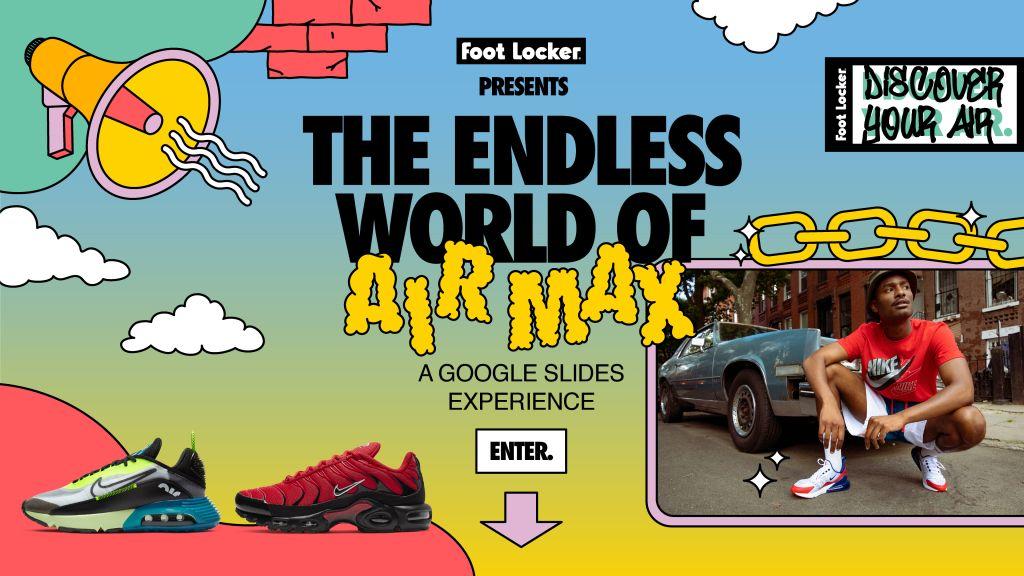 Foot Locker x Google Slides x Air Max