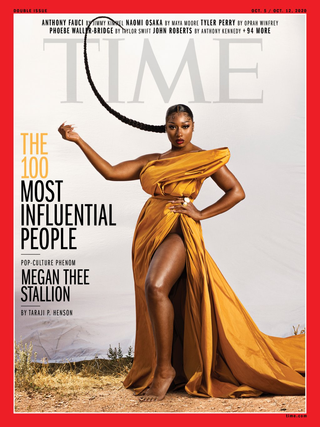 Megan Thee Stallion Time Cover