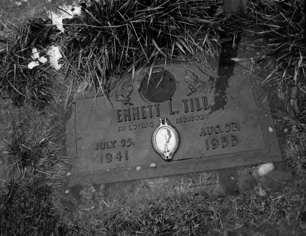 Emmett Till's grave