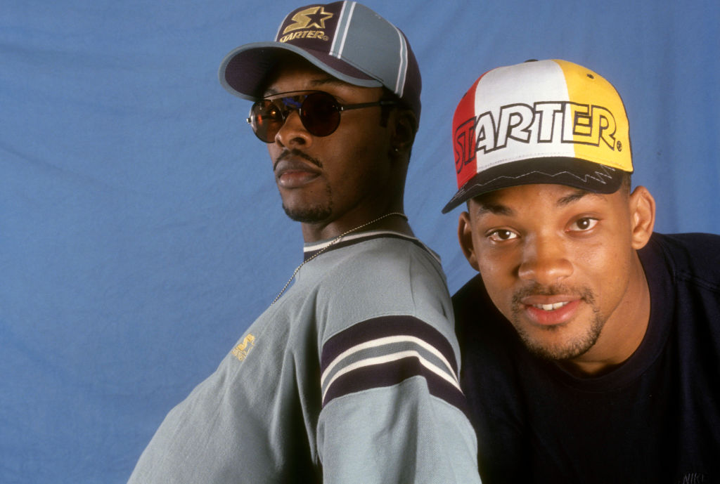 DJ Jazzy Jeff And The Fresh Prince Portrait Shoot
