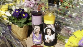 Tributes to Kobe Bryant at the Mamba Sports Academy in Thousand Oaks