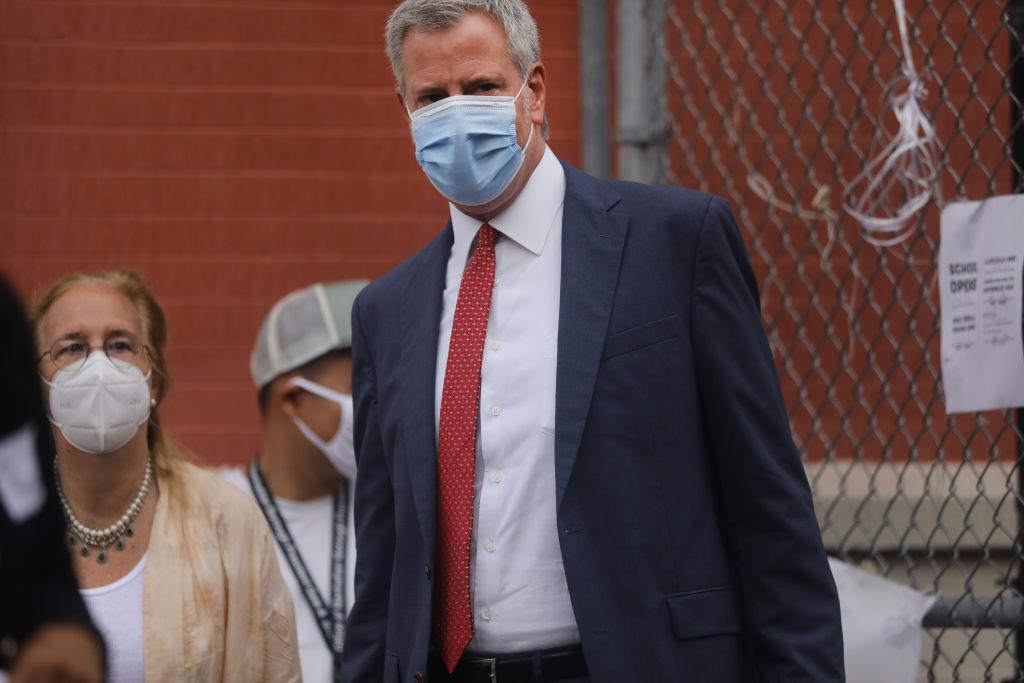 Bill De Blasio Announces New COVID-19 Lockdowns For 9 NYC Neighborhoods