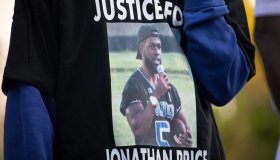 Protest Held In Texas After Unarmed Black Man Is Killed By Police