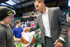 Delonte West a current d league basketball player with the Texas Legends