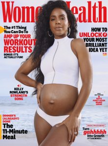 Kelly Rowland Women's Health Magazine