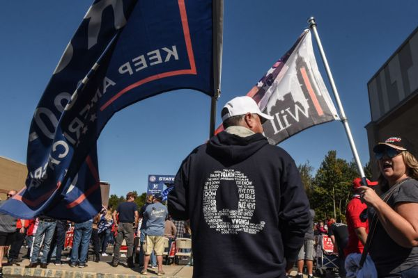 Pro-Trump Rally Held On New York's Staten Island