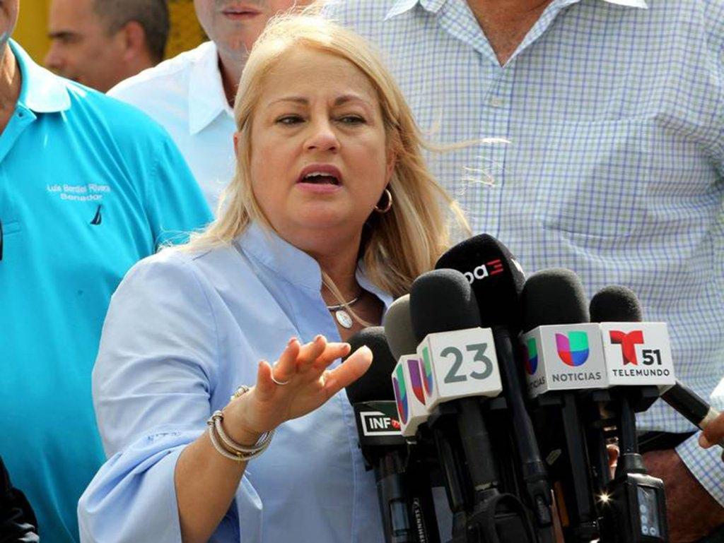 I have nothing to fear. Puerto Rico governor denies allegations from fired justice official