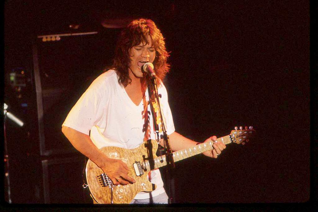 Eddie Van Halen In Concert - 1988