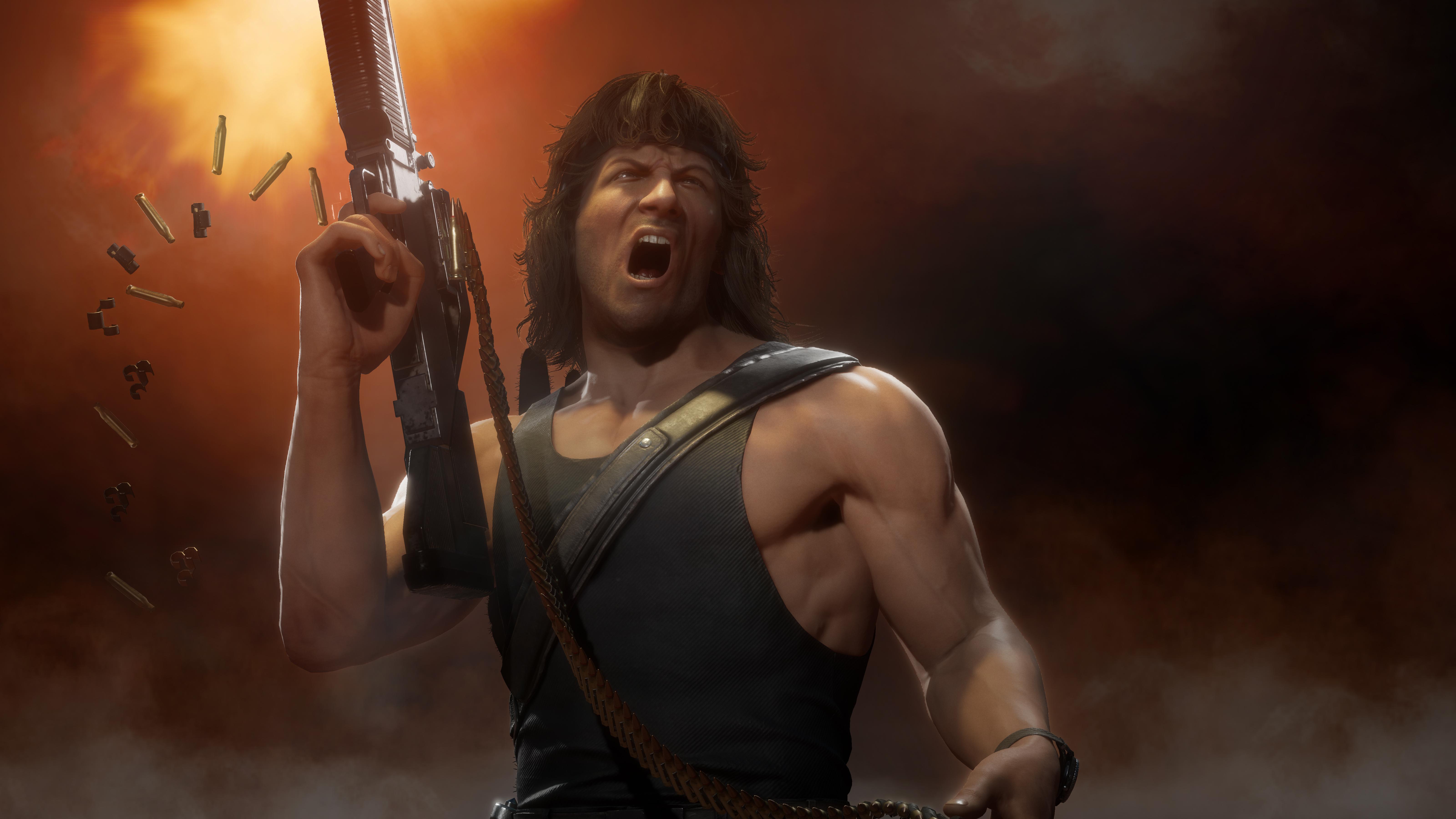 Rambo Goes Ham In New 'Mortal Kombat 11 Ultimate' Trailer