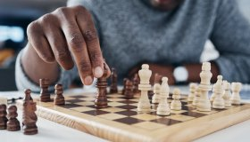 You only win by knowing your opponent's next move