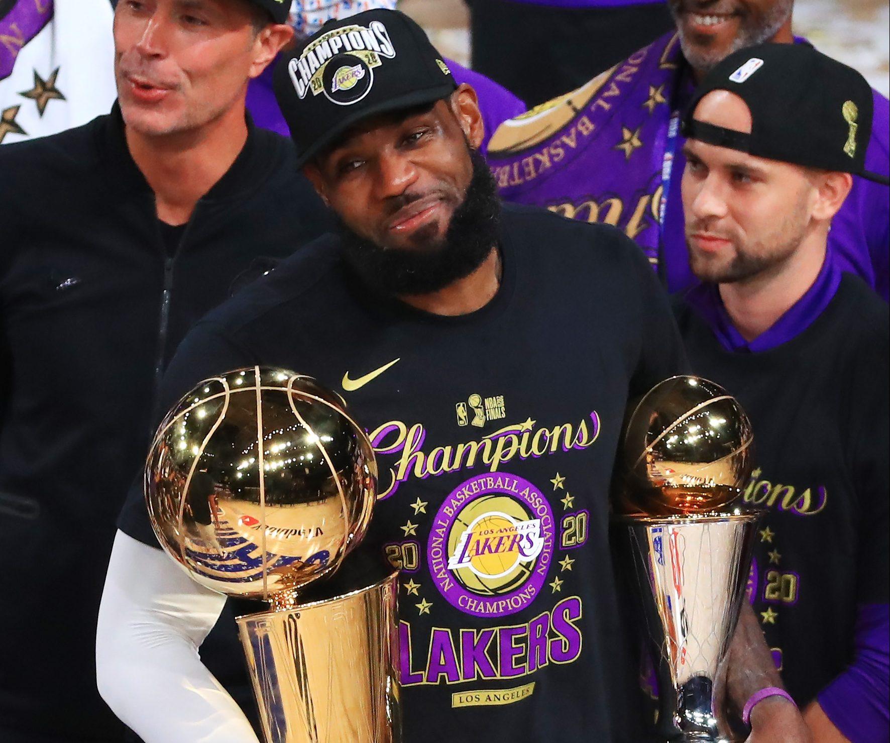 """LeBron James Demands His """"Demand Respect""""M After Winning 4th NBA Finals"""
