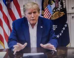 Donald Trump we are going to beat this coronavirus
