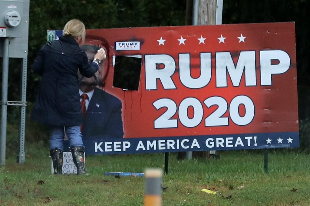 Joe Biden Campaigns For President In Michigan
