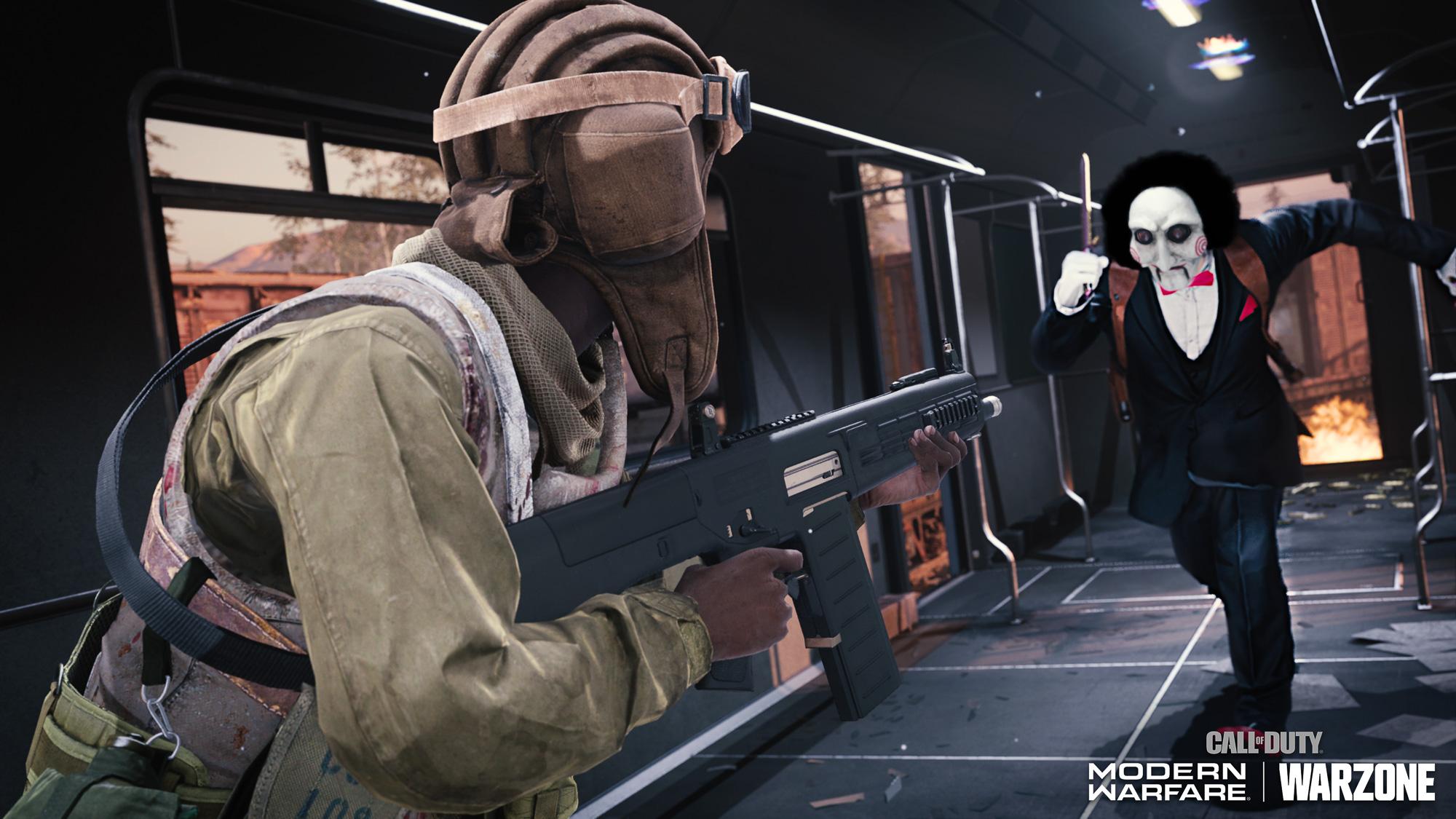 Call of Duty: Modern Warfare/ Warzone Haunting of Verdansk