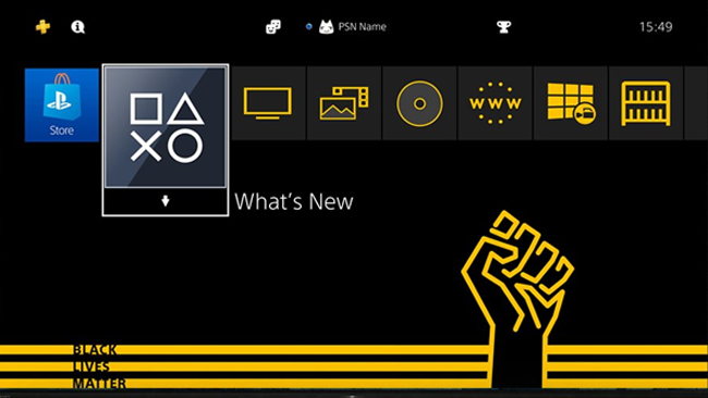 "Sony Drops Free ""Black Lives Matter"" PS4 Theme"
