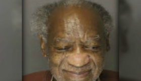 Bill Cosby Smiling Mugshot
