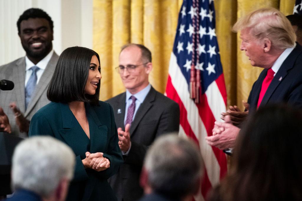 David Letterman Couldn't Get Kim Kardashian To Criticize Donald Trump