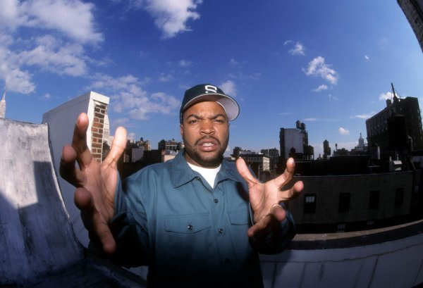 Ice Cube Portrait Shoot