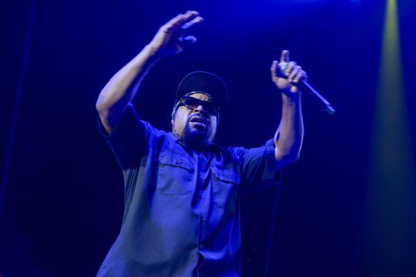 Ice Cube In Portland
