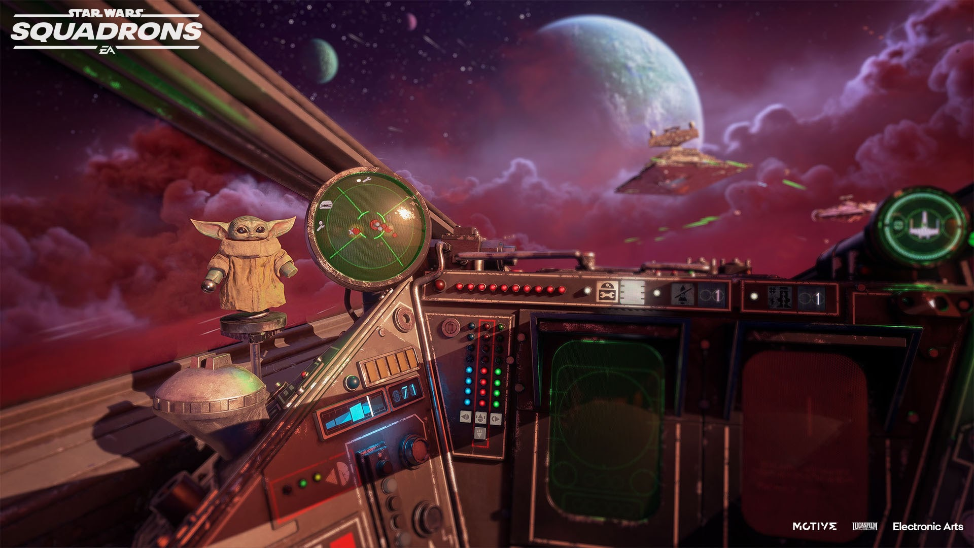 'Star Wars: Squadrons' Getting Free 'The Mandalorian' Supply Drop