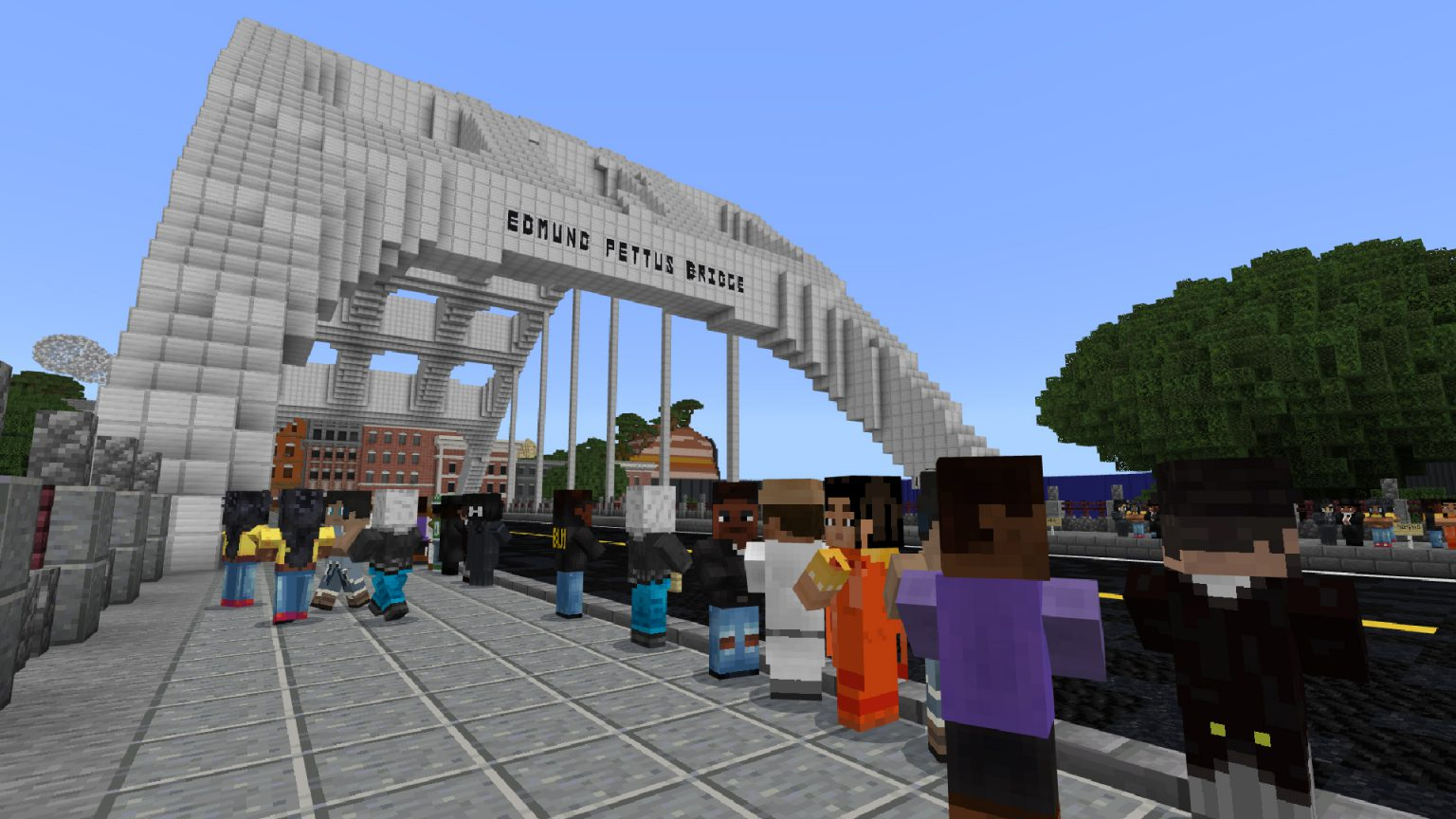 The Late Rep. John Lewis Lives In 'Minecraft: Education Edition'