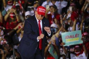 U.S. President Donald Trump in Florida