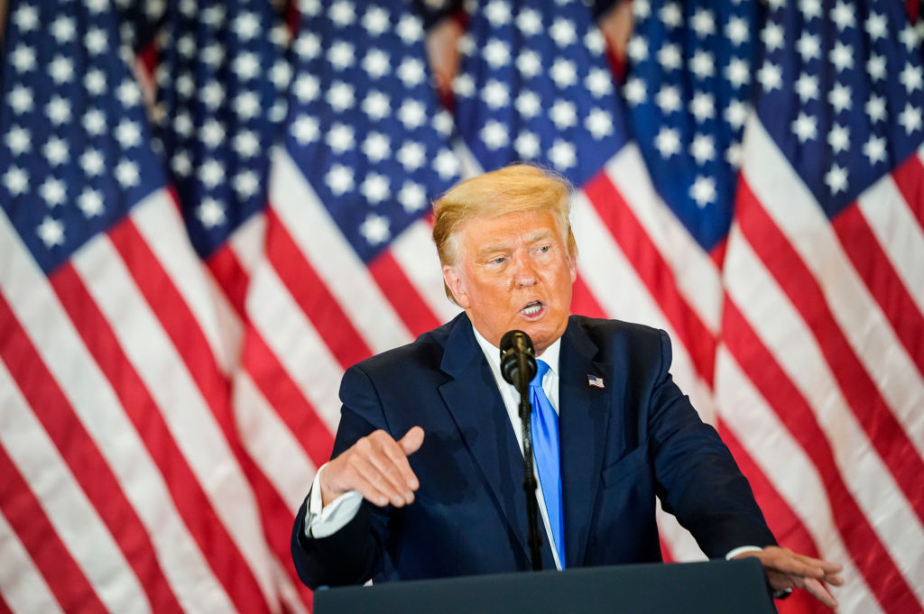 Twitter Flags Donald Trump's Misleading Election Night Tweet