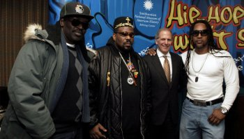 """Launch of """"Hip-Hop Won't Stop: The Beat, The Rhymes, The Life"""" Collection Initiative for the Smithsonian Institution"""