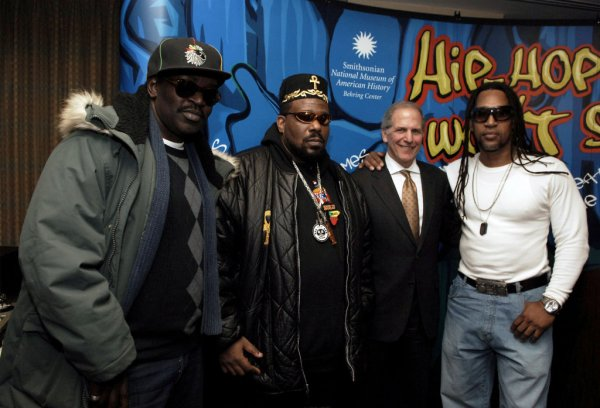 "Launch of ""Hip-Hop Won't Stop: The Beat, The Rhymes, The Life"" Collection Initiative for the Smithsonian Institution"