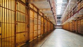 Alcatraz Prison Cellhouse interior