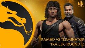 Rambo Vs. The Terminator Mortal Kombat 11: Ultimate Trailer