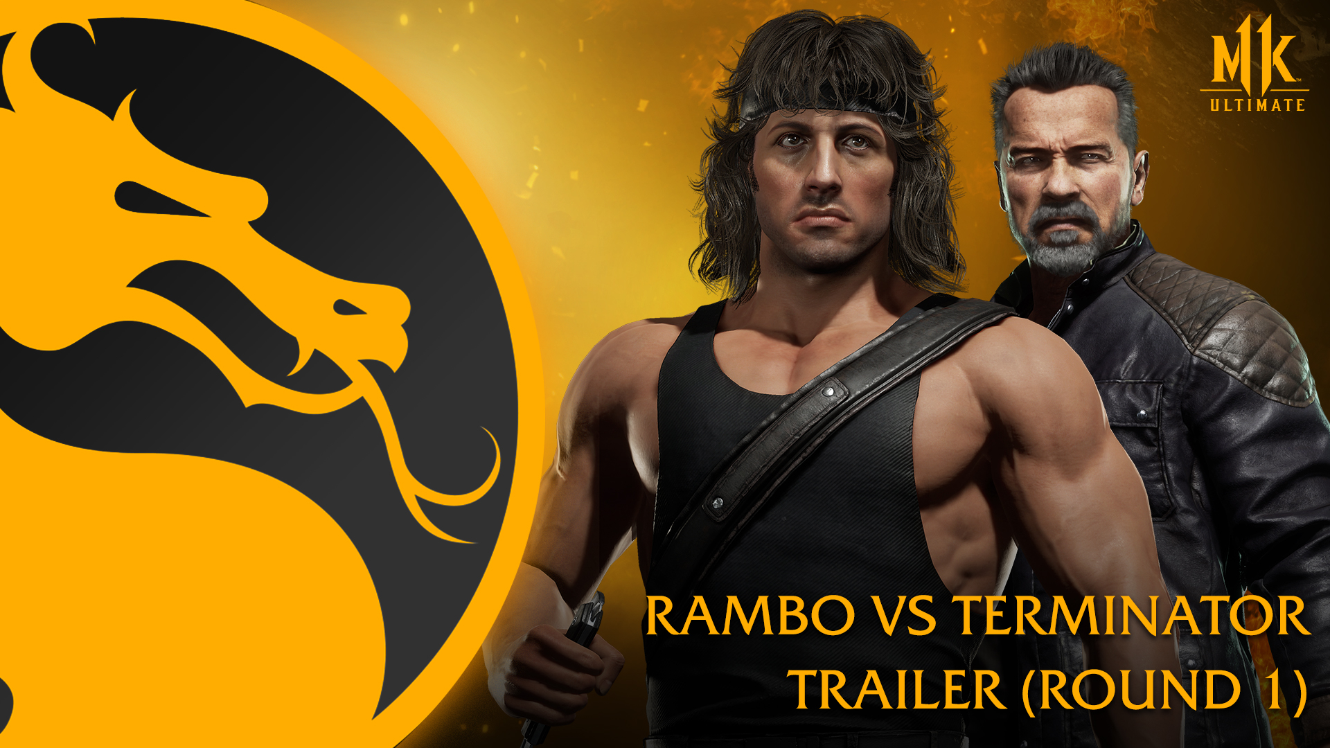 Rambo & The Terminator Faceoff In Two 'Mortal Kombat 11: Ultimate' Clips