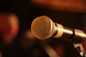 Close-Up Of A Sound Equipment