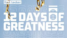 Foot Locker x 12 Days of Greatness