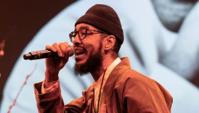 Oddisee aka Amir Mohamed during 33rd Brooklyn Tribute to Dr...