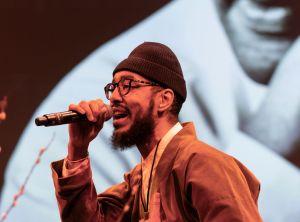 Oddisee aka Amir Mohamed during 33rd Brooklyn Tribute to Dr...