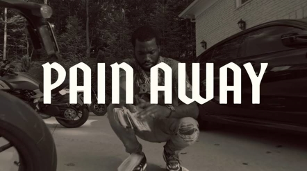 meek mill pain away art