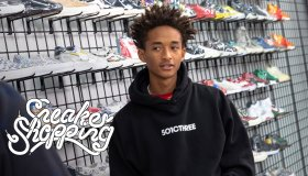 Jaden Smith Sneaker Shopping