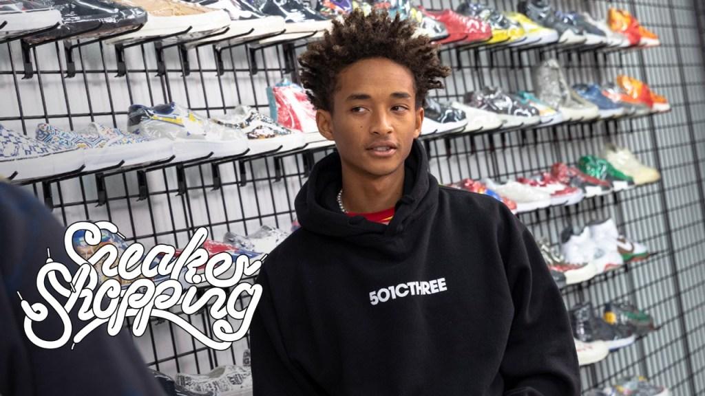 Jaden Smith Sneaker Shopping