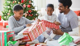 Family gift exchange