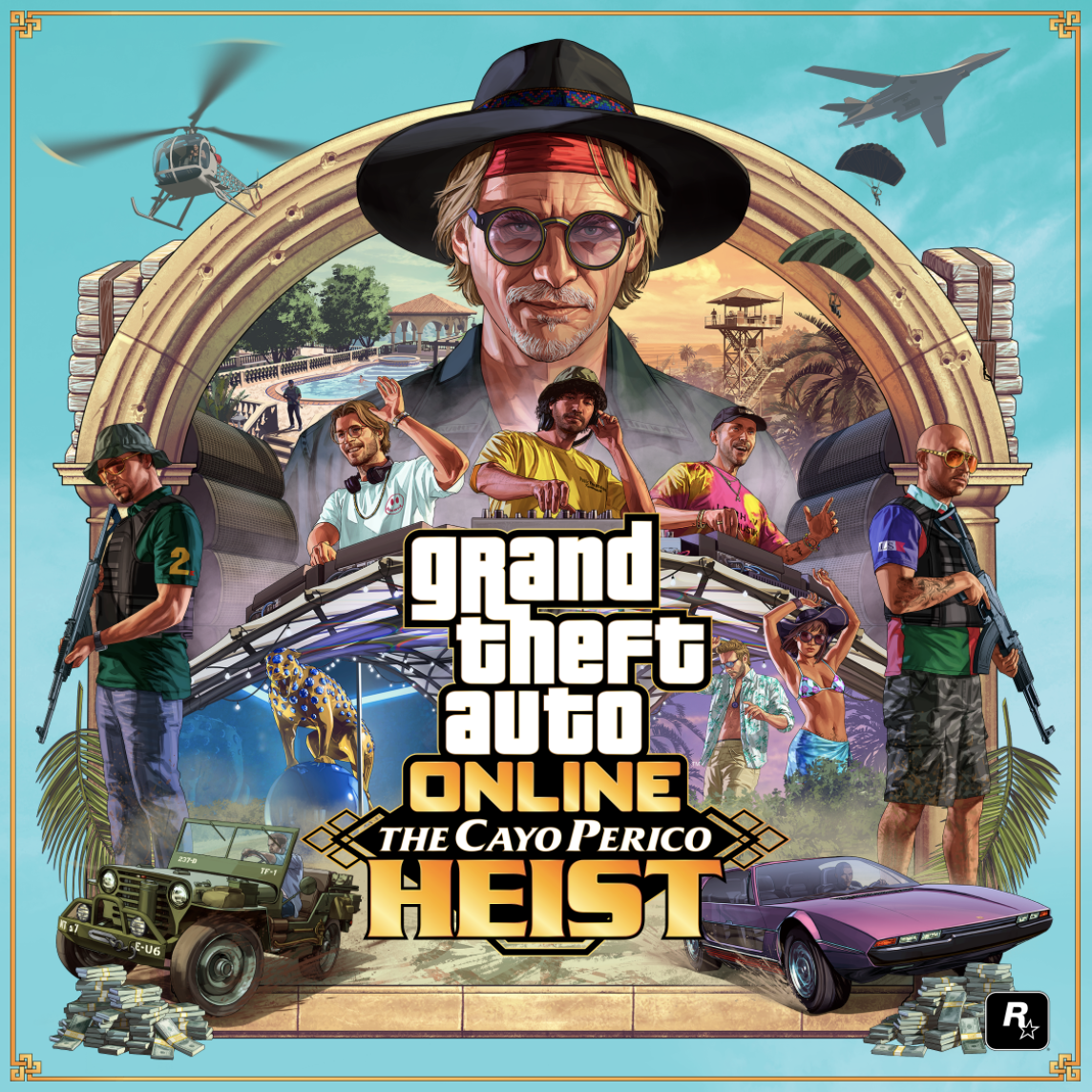 Dr.Dre & Jimmy Iovine Appear In 'GTA Online The Cayo Perico Heist' Update