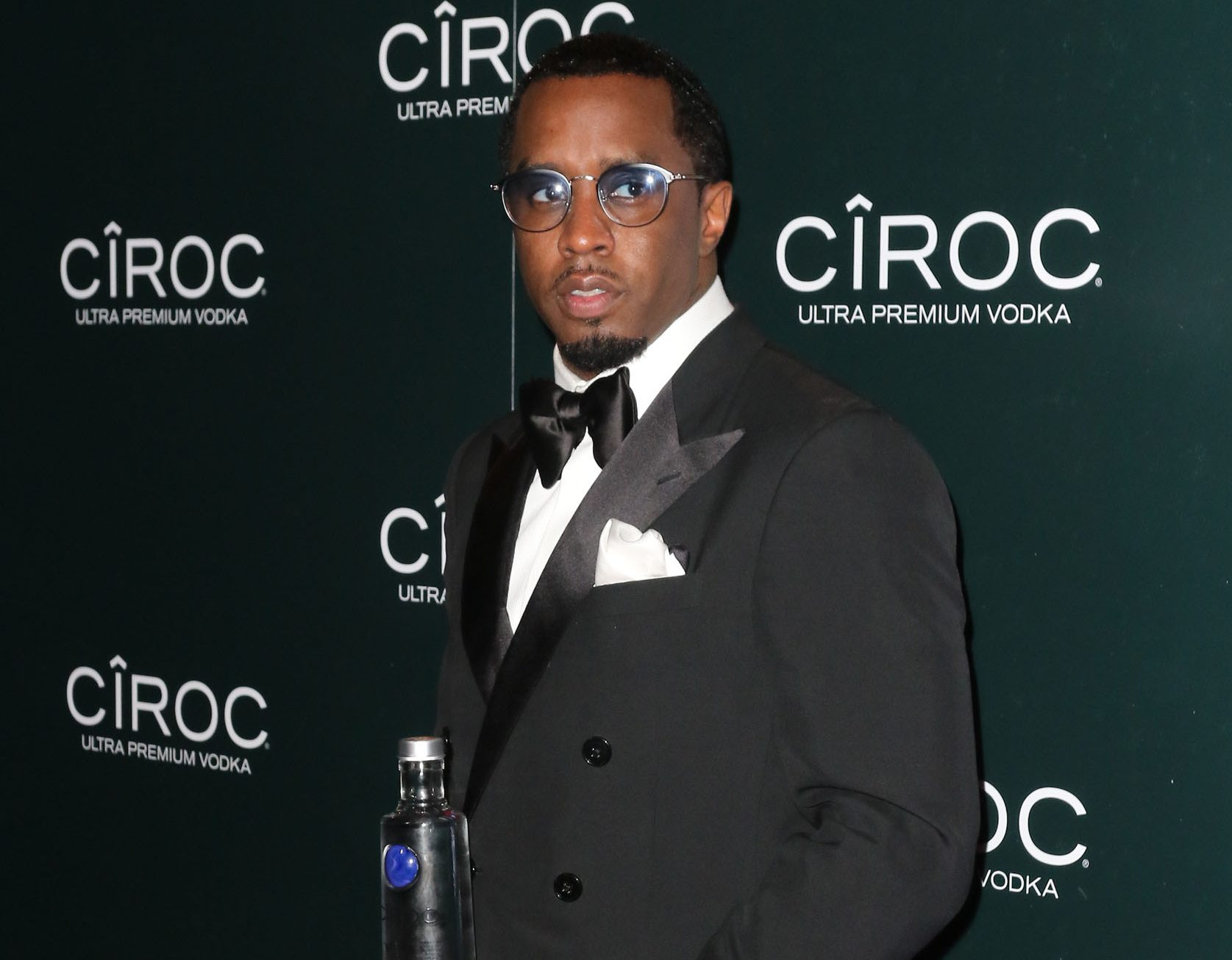 """Sean """"Diddy"""" Combs And CIROC Ultra-Premium Vodka Host New Year's Eve Party On Star Island In Miami, FL."""