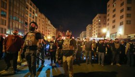 """Proud Boys"" and Antifa fight in Washington, D.C."
