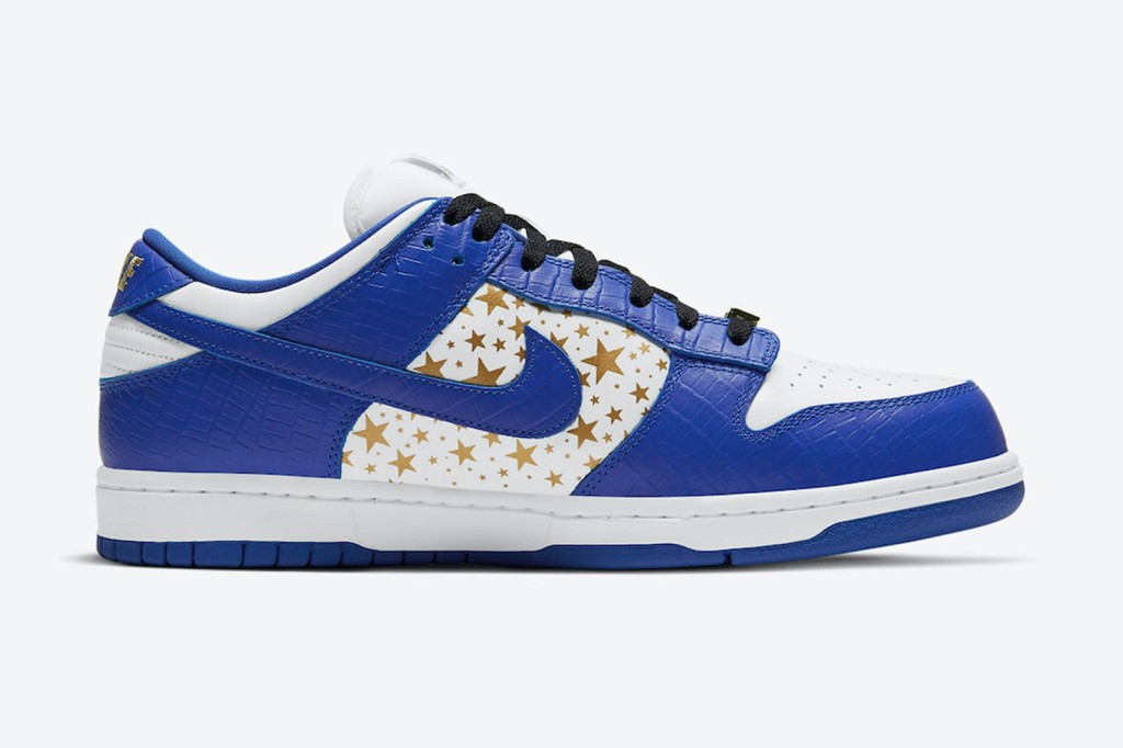 Supreme Hyper Blue Nike SB Dunk Low Sneaker