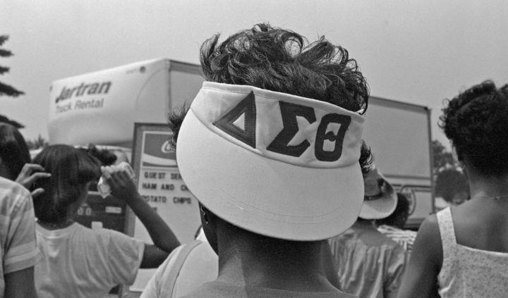 Delta Sigma Theta During The March On Washington