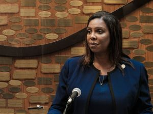 NY Attorney General Letitia James Visits Rochester As Office Investigates Death Of Daniel Prude